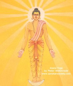 The path Jnana Yoga or right knowledge (Gyana Yoga)