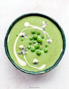 Zupa brokułowo-groszkowa