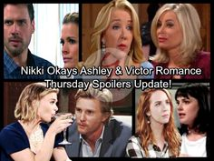 The Young and the Restless Spoilers: Thursday, February 1 - Nikki Okays Ashley and Victor Romance - Mariah Forgives Tessa | Celeb Dirty Laundry