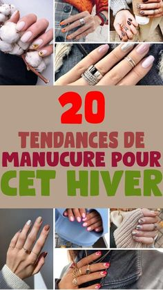 Voilà. On y est. L'hiver a déjà pointu le bout de son nez. Mais pas question de faire grise mine. Du moins, pas sur nos ongles ! Nail Art, Nail Trends, French Nails, Bicolor Cat, Nail Polish, Winter, Nail Arts, Nail Art Designs