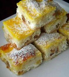 A legfinomabb túrós tekercs, még a rétesnél is fenségesebb! Hungarian Desserts, Hungarian Cake, Hungarian Cuisine, Hungarian Recipes, My Recipes, Cake Recipes, Dessert Recipes, Cooking Recipes, Albanian Recipes