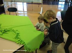 DIY Fleece Blankets, No-Sew Blankets, Service Learning Project