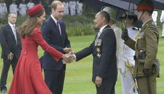 Kate and William meeting with the prime minister