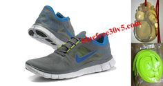 e5ddf39ecf74 All kinds of wholesale Mens Nike Free Run 3 Cool Grey Royal Blue Shoes in Nike  Free Run with superior quality and super workmanship to guarantee the best  ...