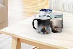 Premium Photo Mugs. Custom Photo Mugs, Personalized Mugs, Photo Gifts, Colorful, Tableware, Check, Tumblers, Products, Dinnerware