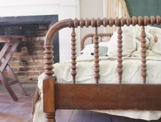 Dear Friend....i love old spindle beds.