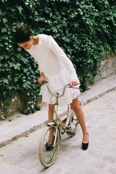 summer dress - bike cruiser