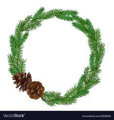 Gold Banner, Fir Tree, Dear Santa, Adobe Illustrator, Vector Free, Christmas Wreaths, Pdf, Graphics, Patterns