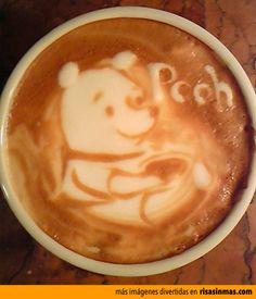 Latter arte: Winnie Pooh.