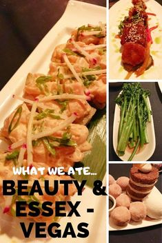 There are so many places to eat in Vegas, it's hard to know where to go. Here are a few places worth checking out the next time you are in Vegas. Butter Poached Lobster Tail, Nutella Bar, Lobster Risotto, Pan Seared Scallops, Cheese Bar, Potato Cakes, Short Ribs, Places To Eat, Vegas