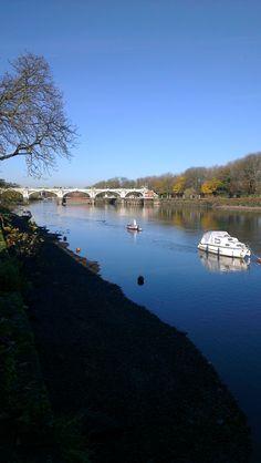 Richmond Lock and Footbridge. Richmond London, Richmond Upon Thames, West London, London City, Waterloo Bridge, St Margaret, Pedestrian Bridge, London Places, London Bridge