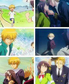 Usui x misaki Maid Sama Manga, Anime Maid, Manga Love, Anime Love, Slice Of Life, Best Romantic Comedy Anime, 07 Ghost, Manga English, Ideal Boyfriend