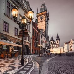 Photo about Prague, Old City Hall on the Town Square early evening. Image of cityscape, prague, europe - 37377938 Dubrovnik, Wonderful Places, Beautiful Places, Prague Old Town, Prague 1, Prague Photos, Places To Travel, Places To Visit, Prague Travel