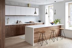Kitchen Soffit Decorating Ideas is totally important for your home. Whether you choose the Kitchen Soffit Decorating Ideas or Painting Colors For Kitchen Walls, you will create the best Rever Pewter Benjamin Moore for your own life. Small Condo Kitchen, Kitchen Room Design, Modern Kitchen Design, Kitchen Layout, Home Decor Kitchen, Interior Design Kitchen, New Kitchen, Home Kitchens, Kitchen Designs