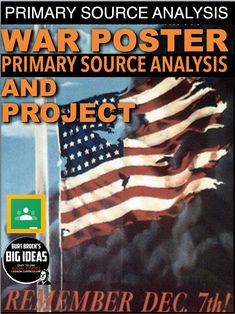 World War 2 Poster Analysis & Poster Creation Activity + Distance Learning Teaching American History, American History Lessons, World History Lessons, History Education, History Class, Teaching History, History Lesson Plans, Social Studies Lesson Plans, Social Studies Classroom