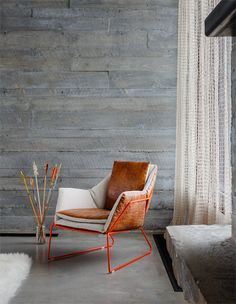 Home Interior Design — modern mountain house living room with open weave. Modern Interior Design, Interior And Exterior, Home Furniture, Furniture Design, Modern Mountain Home, Mountain Living, Living Room Inspiration, Interiores Design, Home Living Room