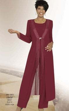 burda pantsuit winter mother of the bride - Google Search