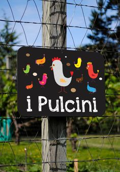 i Pulcini Chicks in ITALIAN Chicken Coop by BainbridgeFarmGoods, $34.95