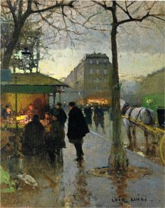 Luigi Loir, Paris at Dawn