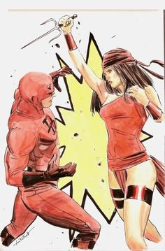 Daredevil vs. Elektra - Mitch Breitweiser