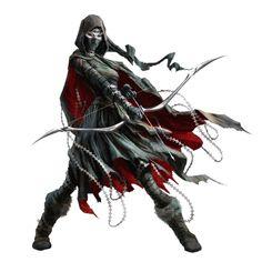 Female Caligni Ranger Rogue - Virihane of Pangolais - Pathfinder PFRPG DND D&D 3.5 5th ed d20 fantasy