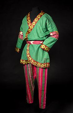 Ballets Russes, Nicholas ROERICH   Costume for a Polovtsian warrior