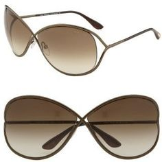 0ff669ed2f Tom Ford FT0130 Miranda Butterfly Sunglasses