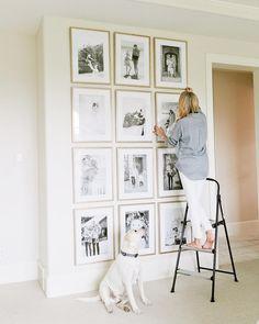 "5,723 Likes, 90 Comments - Emily Jackson // Ivory Lane (@emilyijackson) on Instagram: ""Remember my gallery wall I created with @framebridge? Well they've teamed up with @elledecor…"""
