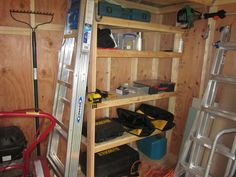 shelving for shed