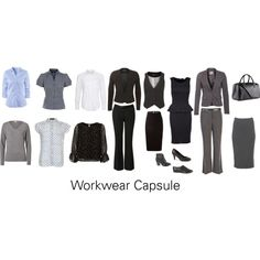 """Work Wear Capsule"" by katestevens on Polyvore"