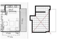 M Floor Plans, Diner Decor, Bay Windows, Houses, Terrace, Lounges, Architecture, Floor Plan Drawing, House Floor Plans