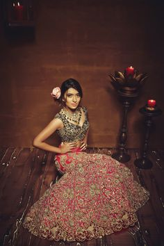 red and grey gown, reception gowns, reception gown inspiration, gown with zardozi work all over, gown for cocktail party, gown for sangeet
