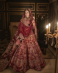 Indian Bridal Lehenga, Pakistani Bridal Dresses, Stylish Dresses For Girls, Stylish Clothes For Women, Black Bridal Dresses, Bridal Outfits, Wedding Lehenga Designs, Beautiful Indian Brides, Muslim Women Fashion