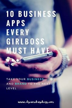 A list of 10 Business Apps that will help you be more productive, and run a successful business.