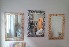 Camouflage, Zebra and Leopard Mirror in Spazio PUNTO31