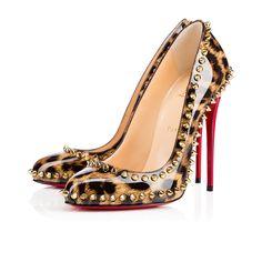 CHRISTIAN LOUBOUTIN Dorispiky 120Mm Leopard Leather. #christianlouboutin #shoes #