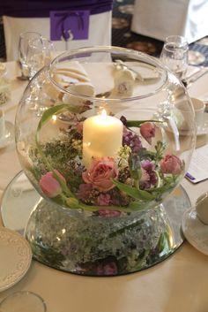 Flower Design Events: Elegant Vintage Purple Wedding at Bartle Hall; Emma & Michael
