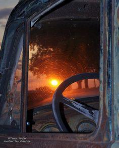Sunset Steering Wheel