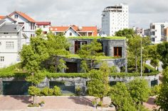 wohnhaus stein interessantem design außenblick