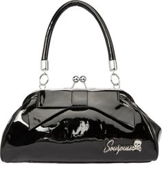 Sourpuss Floozy Black Purse