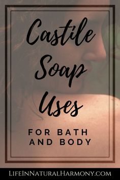 Castile Soap Uses for Bath and Body - Replace chemical products with non toxic pure castile soap. Eliminate toxins from your personal care routine. Non Toxic Makeup Foundation, Non Toxic Makeup Brands, Chemical Products, Pure Products, Arbonne Products, Beauty Products, Castile Soap Uses, Shea Butter Shampoo, Lavender Soap