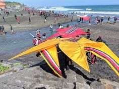 Kite contest at Echo Beach and Pererenan Beach