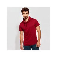 Camiseta manga corta LAURUS Referencia  6558 Marca:  Roly  Descripción  Camiseta manga corta y cuello chimenea con ajuste de cordón. Costura lateral.  Composición 100% algodón, 150 g/m².