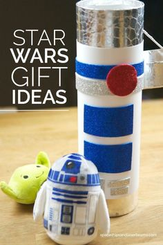 Star Wars Gift Ideas + easy DIY R2D2 themed gift package.: