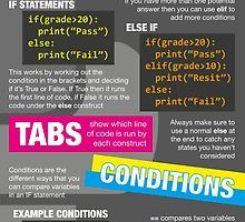Intro to Python Poster (Computer Science GCSE) by lessonhacker Gcse Computer Science, Basic Computer Programming, Learn Computer Coding, Python Programming, Data Science, Coding Tutorials, Information Literacy, Programing Software, Programming Languages