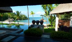 Mauritius, View from the Touessrok