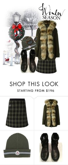 """""""WALKING"""" by flioncleo62 ❤ liked on Polyvore featuring Moncler"""