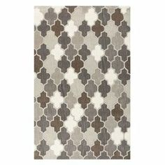 """Anchor your dining set or living room seating group in style with this hand-tufted wool rug, showcasing a quatrefoil motif in a neutral palette.   Product: RugConstruction Material: WoolColor: Safari tanFeatures:  Hand-tuftedHigh-low pile       Pile Height: 0.473"""" Note: Please be aware that actual colors may vary from those shown on your screen. Accent rugs may also not show the entire pattern that the corresponding area rugs have.Cleaning and Care: Vacuum regularly with non-beater ..."""