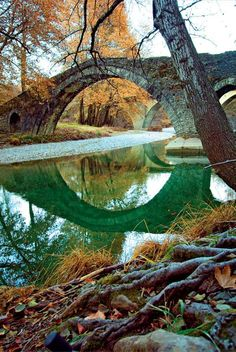 Epirus,Greece Water Play For Kids, Santorini Villas, Myconos, Old Bridges, Sunny Beach, Covered Bridges, Sandy Beaches, Greece Travel, Beautiful Islands