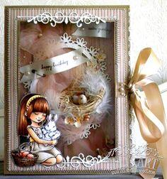 Easter Birthday Card Mo Manning, Digi Stamps, Dream Team, Ava, Birthday Cards, Frame, Blog, Handmade, Home Decor